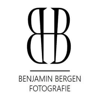Logo Benjamin Bergen Fotografie Hochzeitsfotograf Familienfotograf Lörrach Basel Freiburg Logo ohne Rahmen